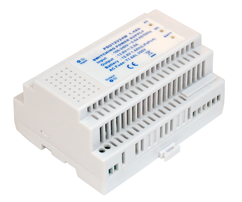 DIN RAIL - Out: 1 with built-in battery