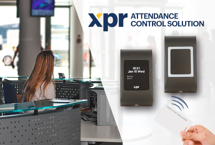The XPR Attendance Control solution can help you in pandemic periods!