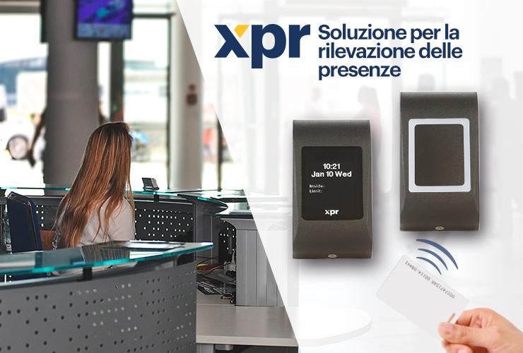 Scopri la soluzione XPR per la rilevazione di presenze!