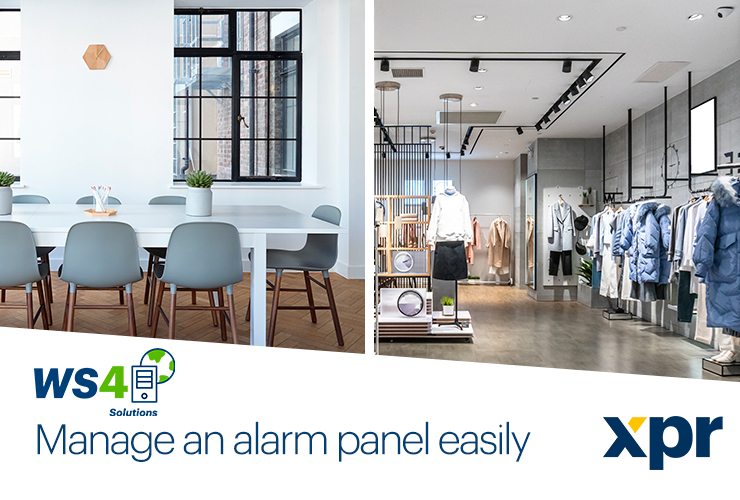 Using your alarm panel with our Web Access system couldn't be easier