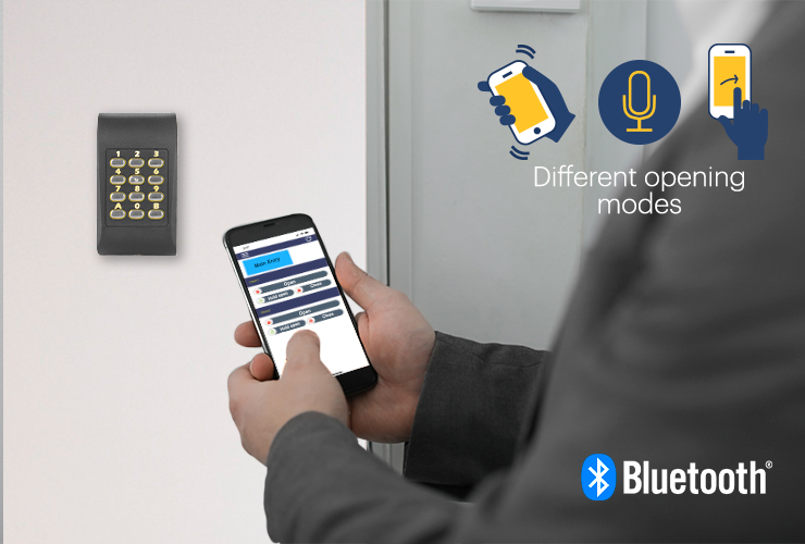 The XPR Standalone Bluetooth readers: our new and complete access control touchless solution